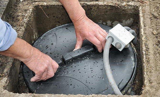 Pompe de relevage : installation et contrôle